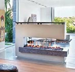 Ortal Gas Fireplace