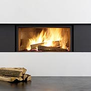 Stuv Wood Fireplace