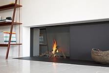 Stuv gas fireplace