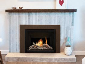 gas fireplace from Valor