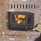 RSF Delta Wood Fireplace